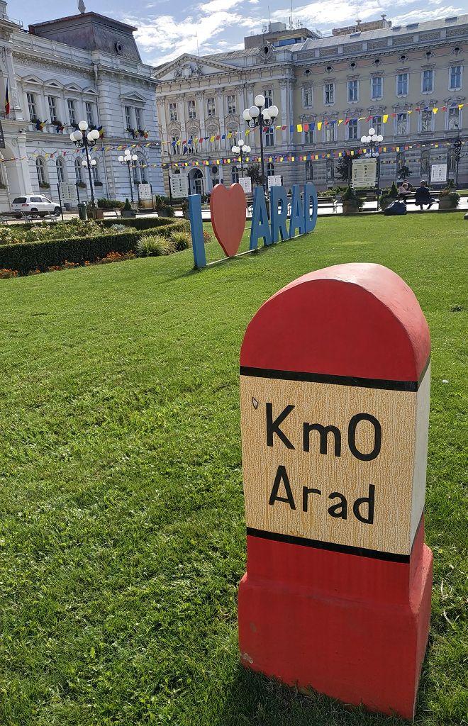 Erste Stadt in Rumänien - Arad -