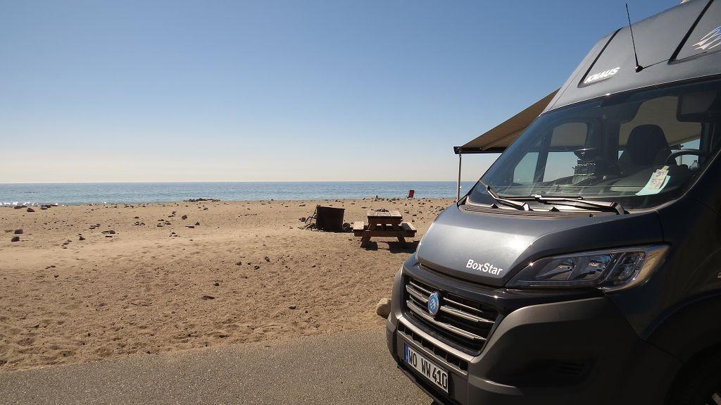Beach Camping Point Mugu