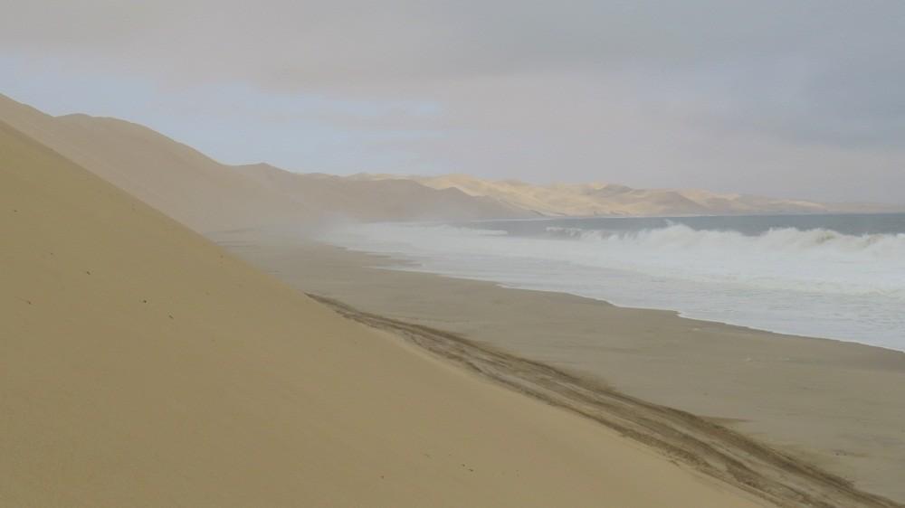 Düne trifft Meer