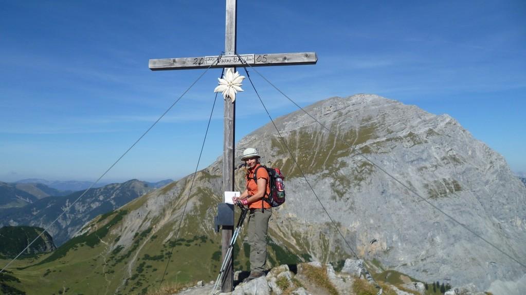 Gipfelkreuz am Hahnenkampl