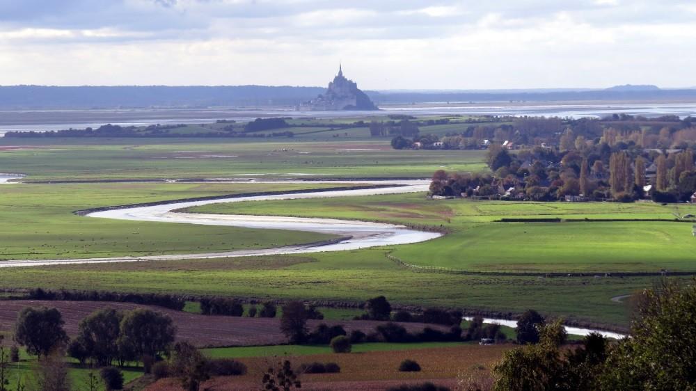 Blick zum Mont Saint Michel