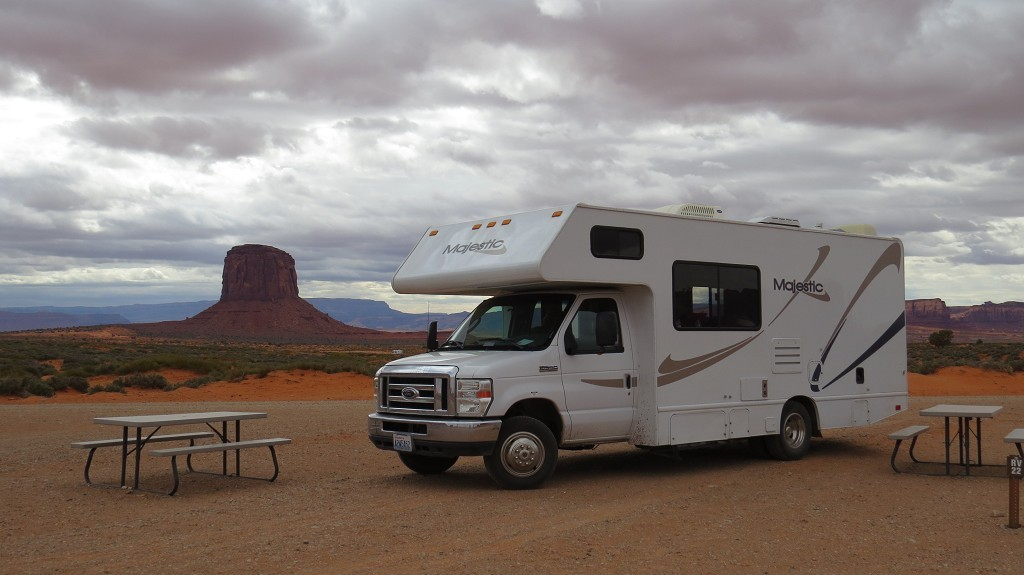 "Monument Valley, Campground ""The View"""