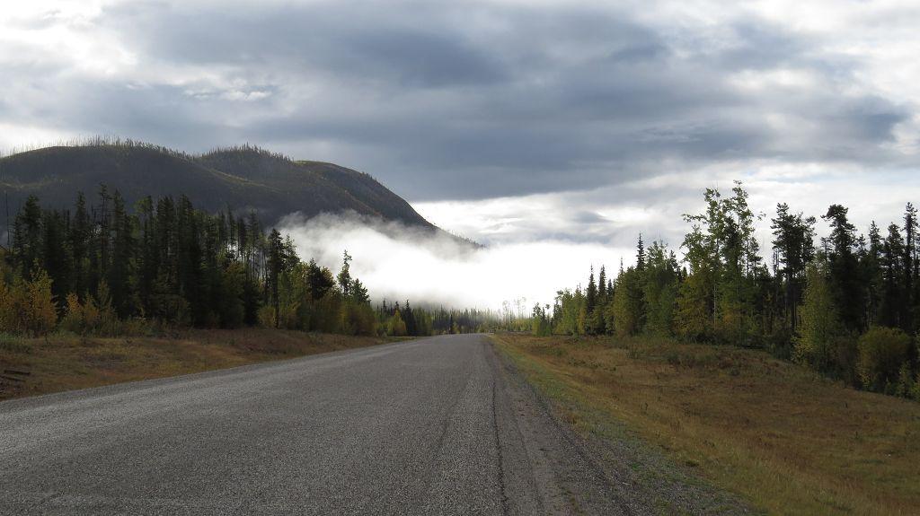 Weiter auf dem Alaska-Highway...