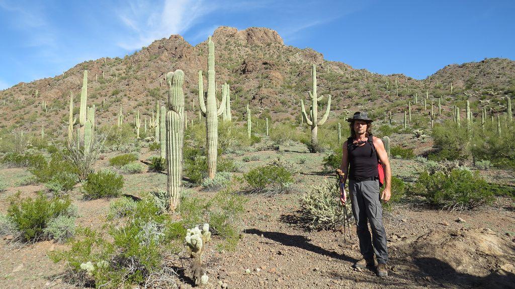 Picacho Peak Wanderung...