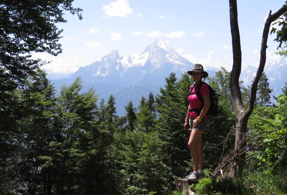 Blick von der Kneifelspitze, unserer 3. Tour
