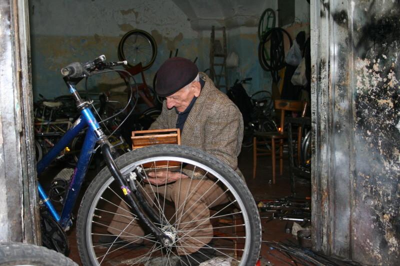 Fahrradwerkstatt in Lecce