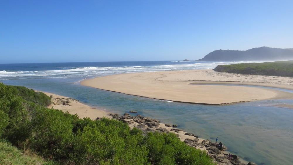 Indischer Ozean bei Sedgefield