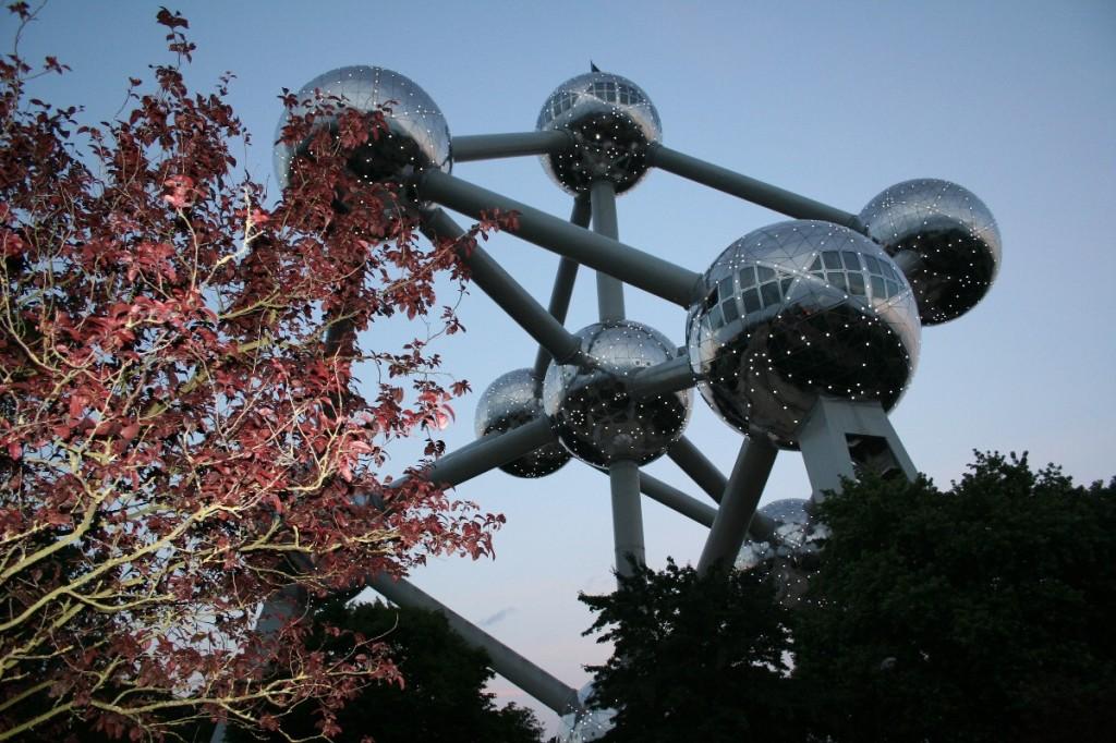 Brüssel Atomium 2008