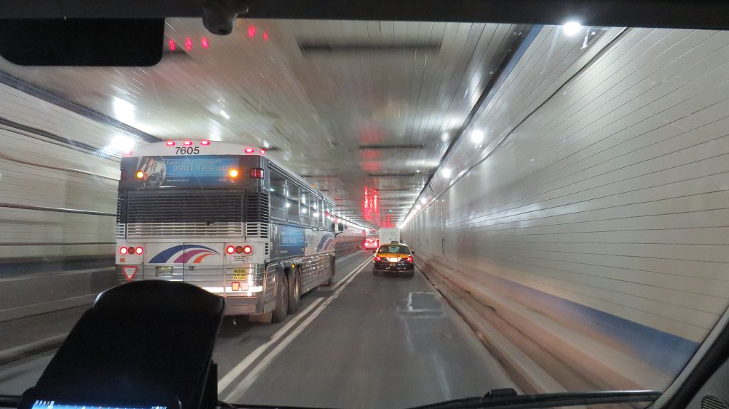 ...Lincoln Tunnel nach Jersey City
