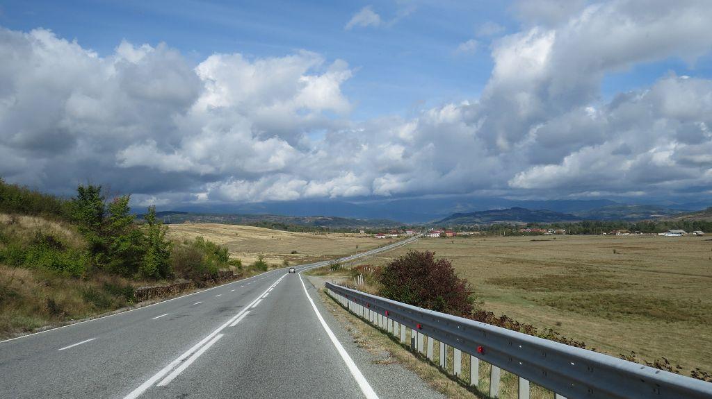 ...die Walachei Richtung Karpaten
