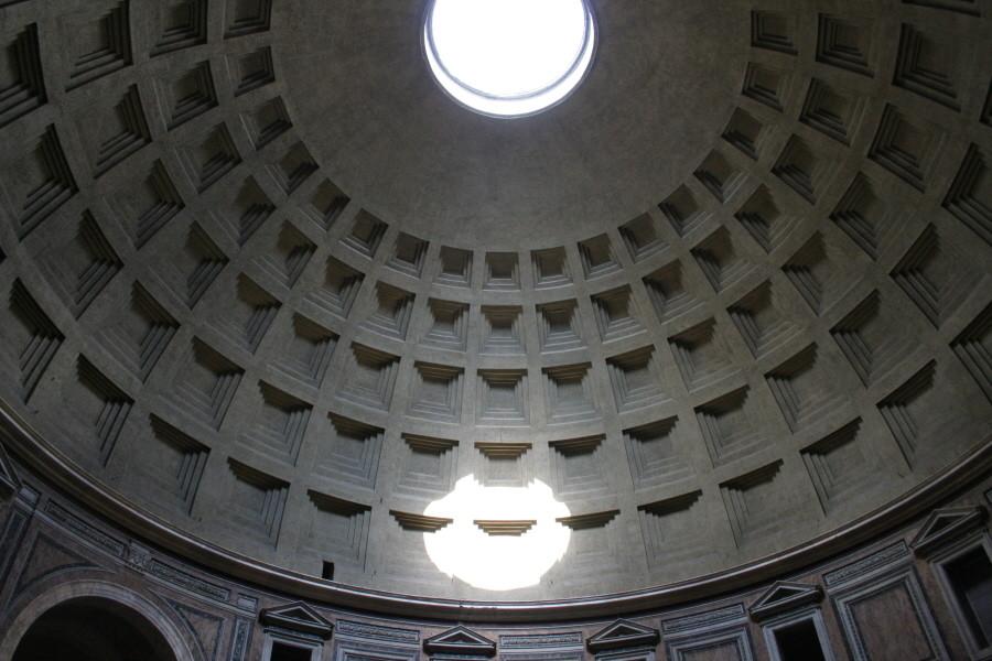 Die Kuppel des Pantheon