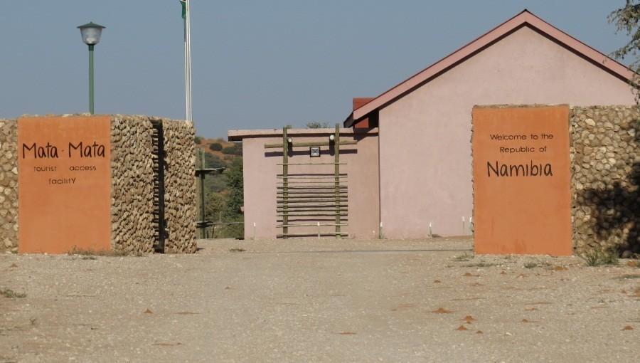 Blick nach Namibia