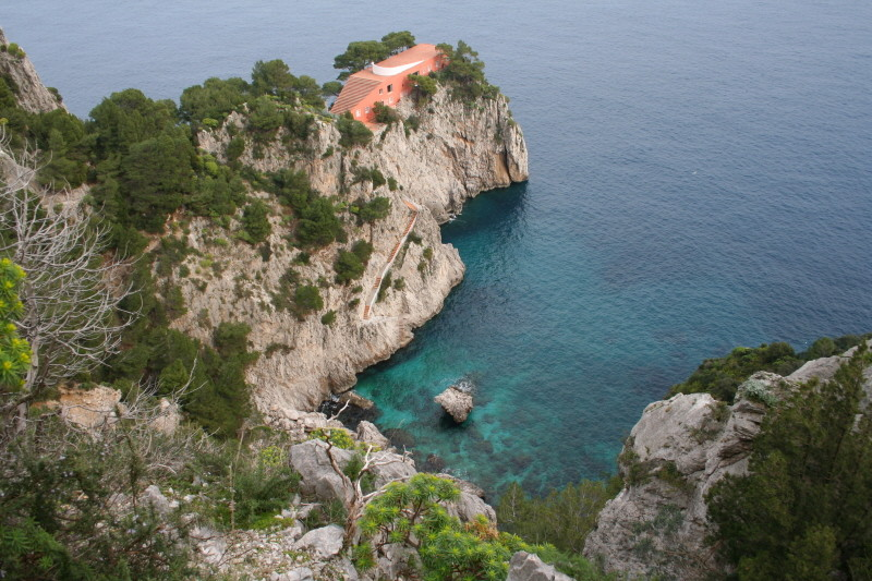Capri, Villa Malaparte
