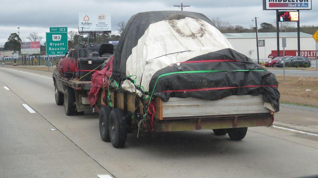 Was da so alles auf der Interstate herumfährt
