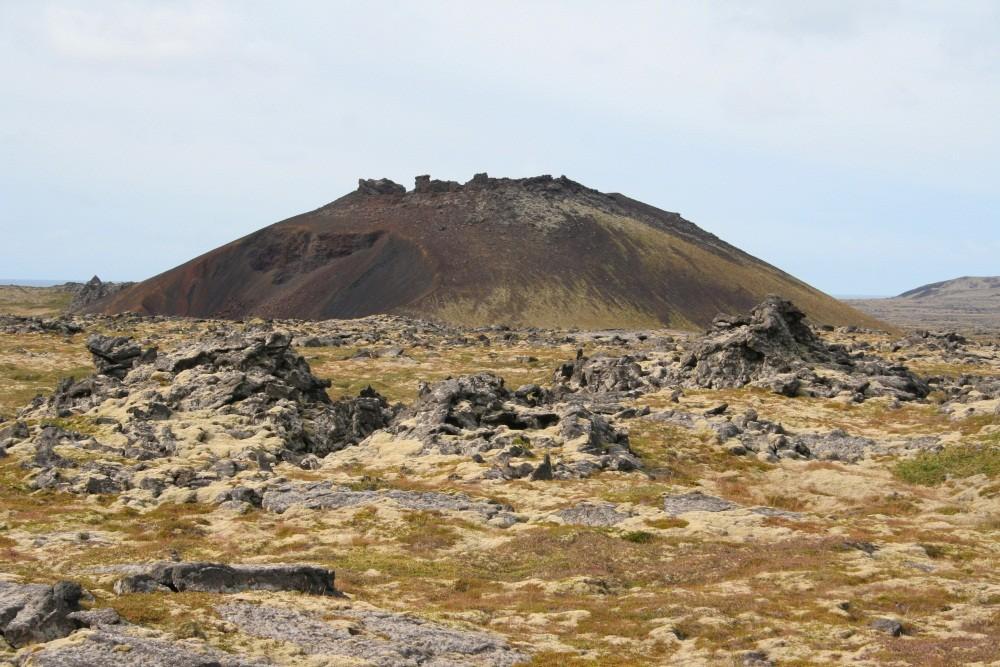 ...Vulkankegel...