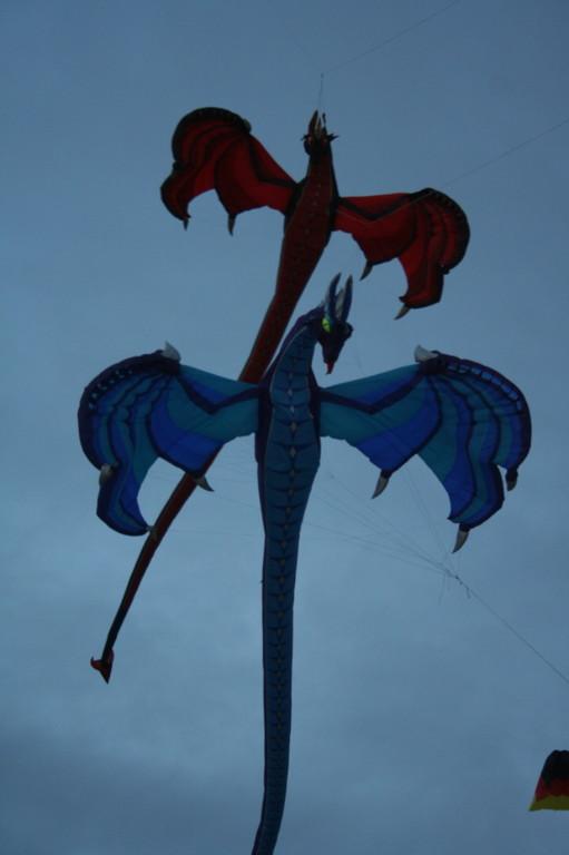 Drachen-Nachtflug