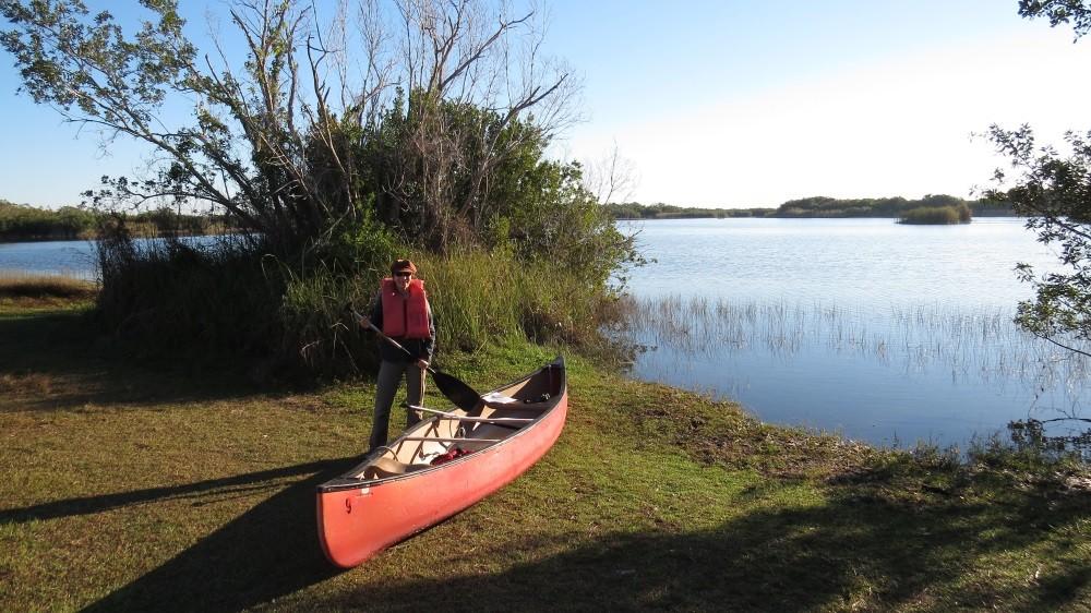 Kanu-Fahrt auf dem Nine-Mile-Pond