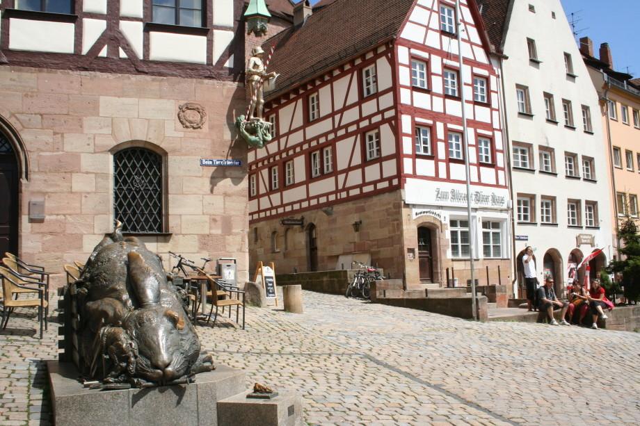 Auf Albrecht Dürer's Spuren