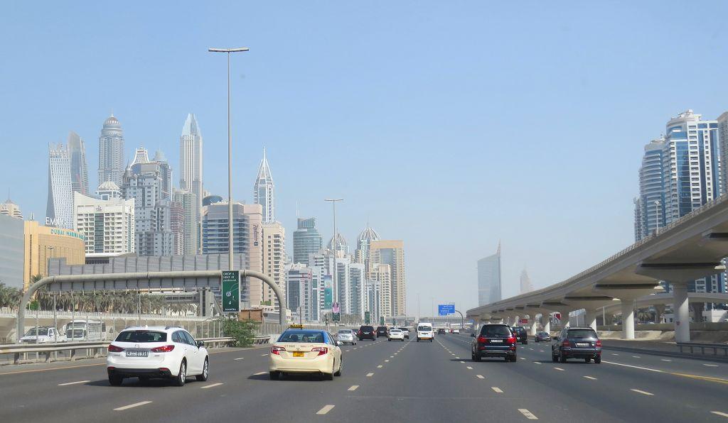 Wir erreichen wieder Dubai
