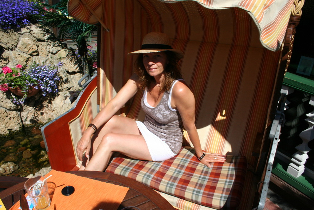 Chill-Out im Strandkorb