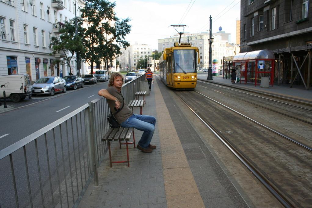 Mit der Tram zurück