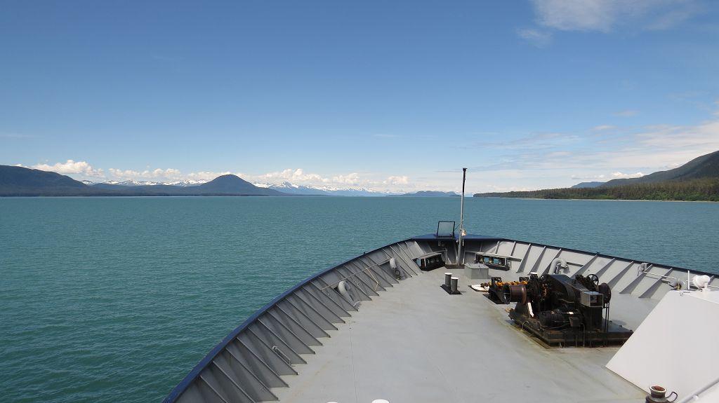 Wir nähern uns Juneau