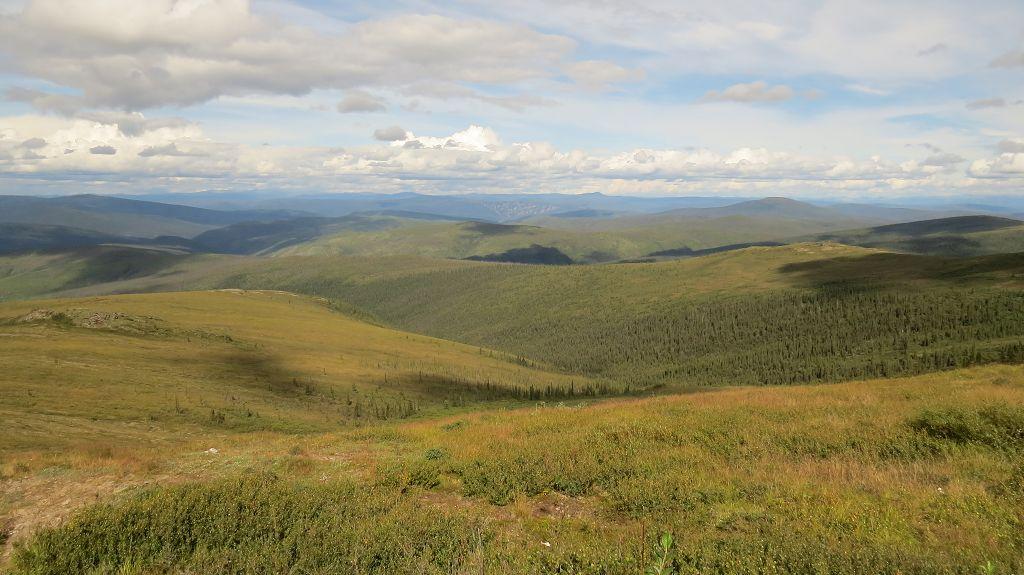 Letzter Blick über Alaskas Weiten
