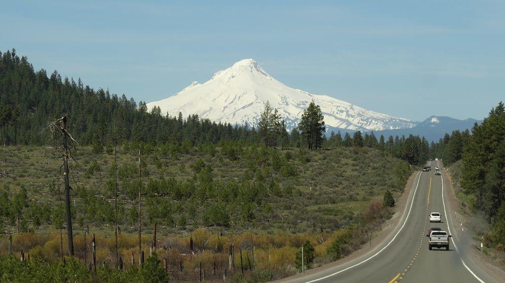 Fahrt zum Mount Hood