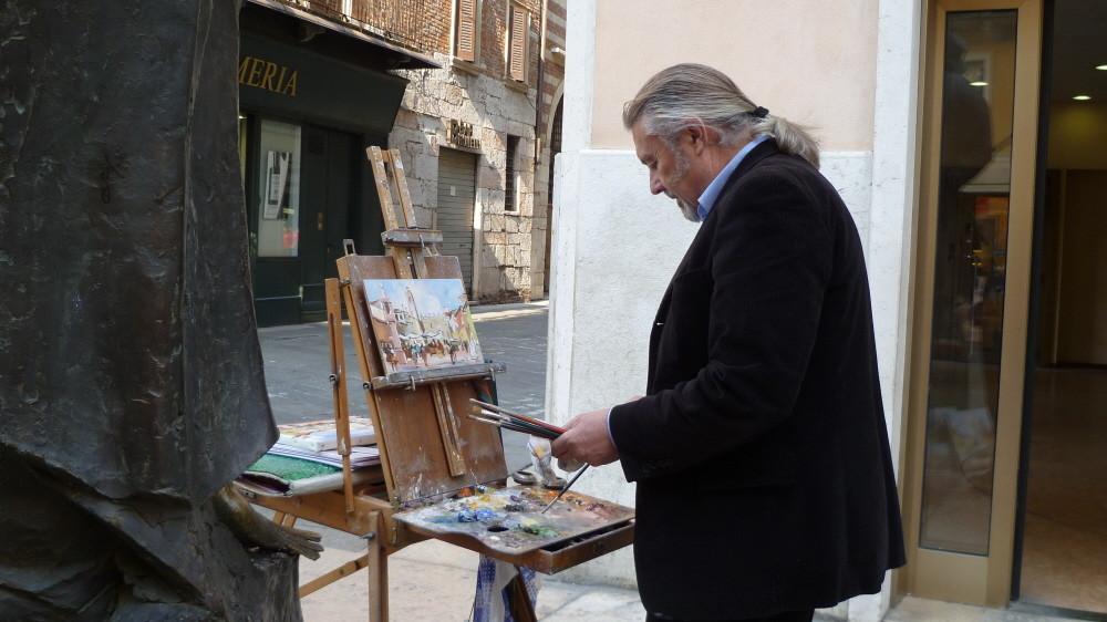 Maler in Verona