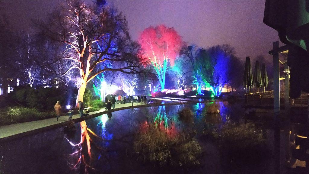 Winterlichter Luisenpark Mannheim