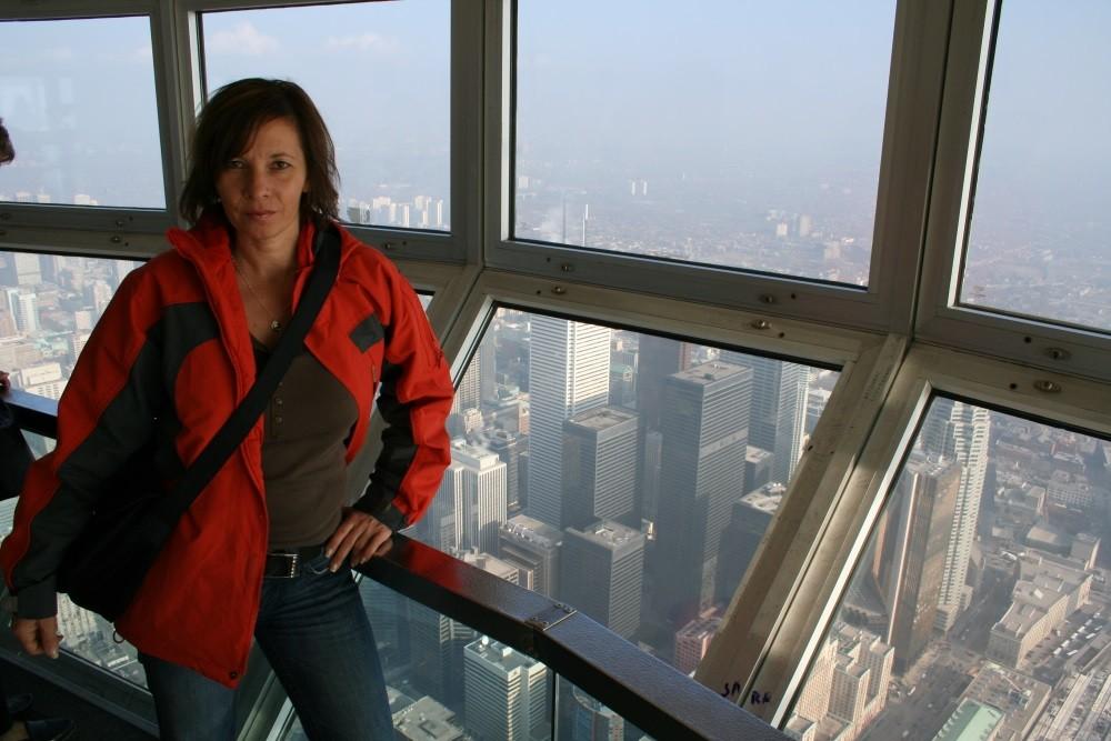 Toronto 2006 - Blick vom CN-Tower -