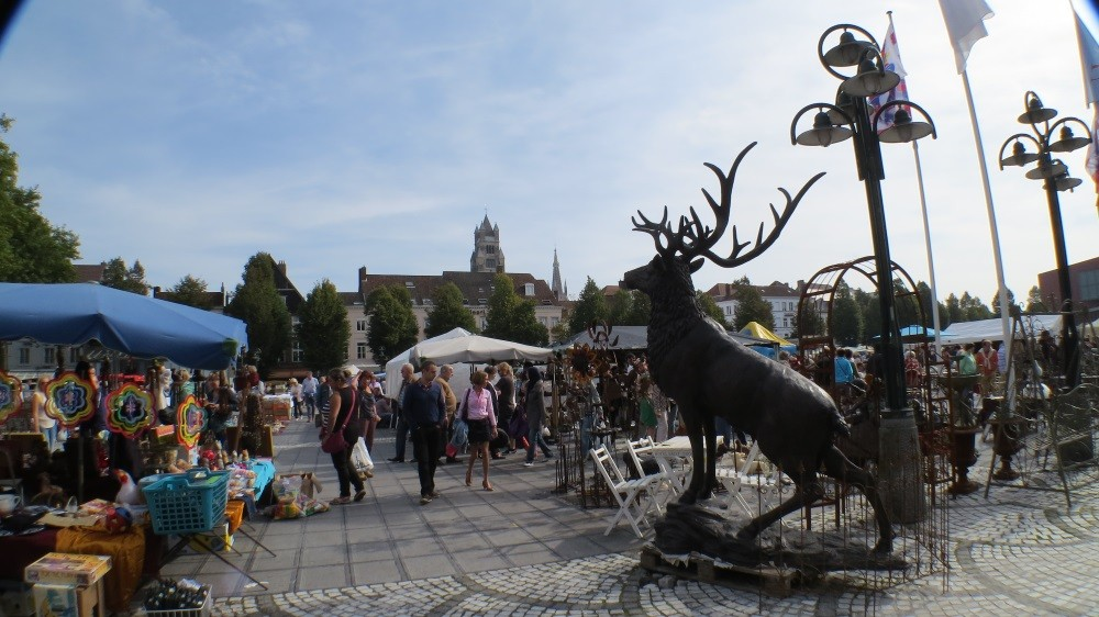 Antikmarkt in der Altstadt