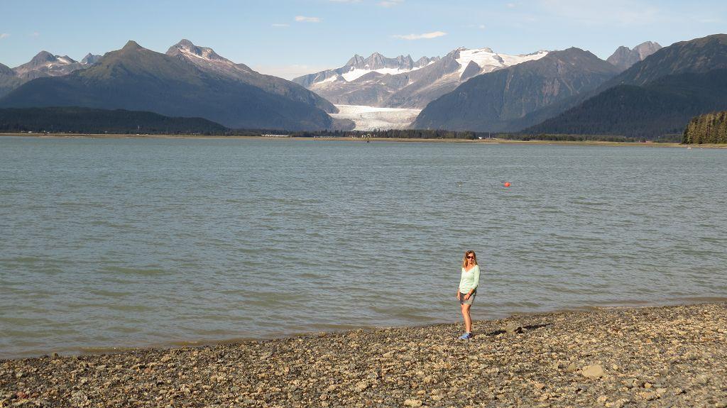 ...und den Mendenhall Glacier von Douglas Island aus