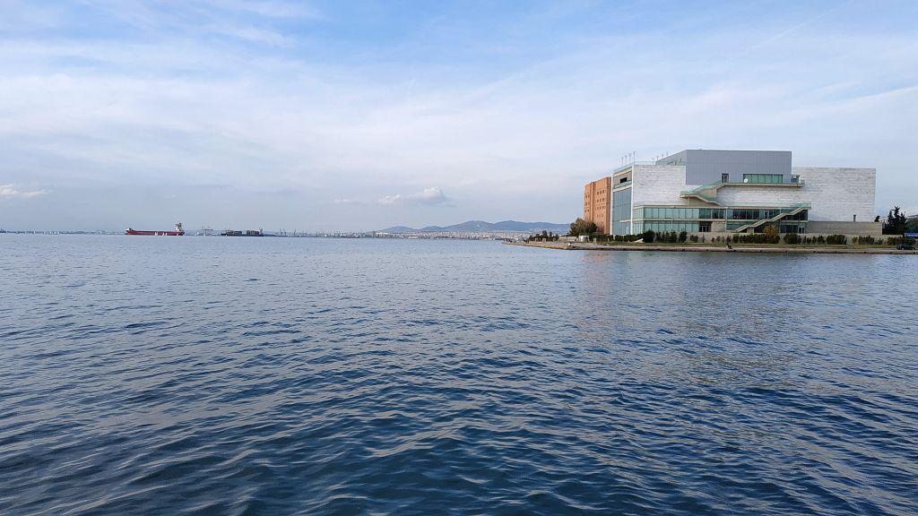 Übernachtung am Hafen in Thessaloniki