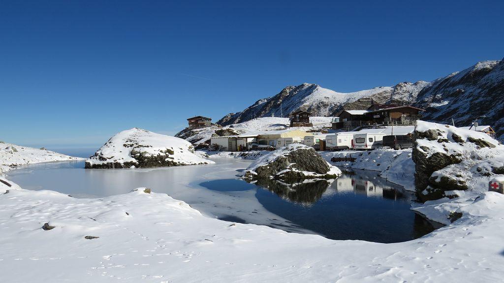Schneewanderung zum Lac Balea View-Point