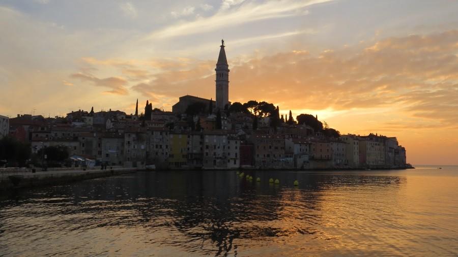 Sonnenuntergang in Rovinj...