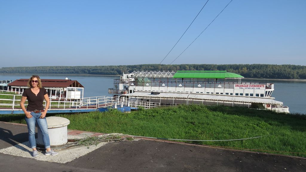 Wir erreichen wieder die Donau bei Braila