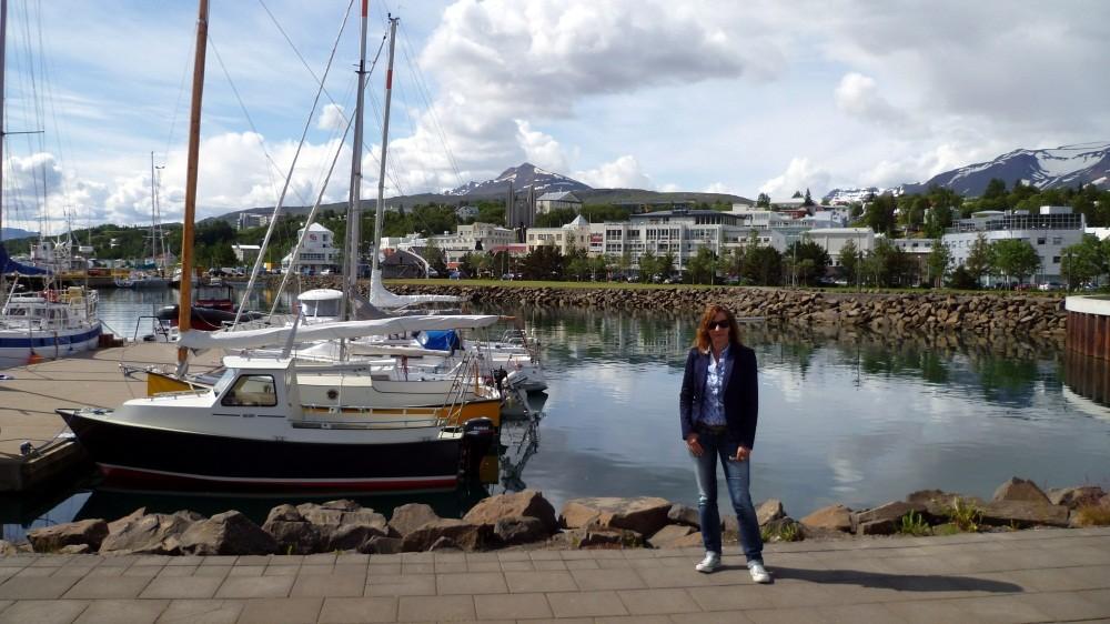 Am Hafen von Akureyri