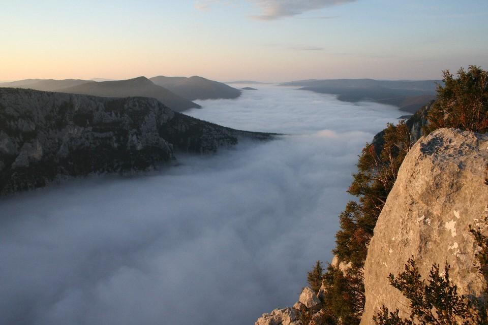 Canyon du Verdon, Frankreich 2009