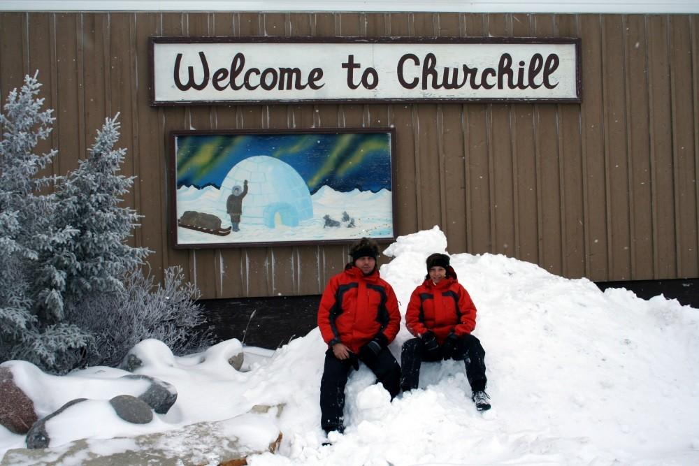 Willkommen in Churchill