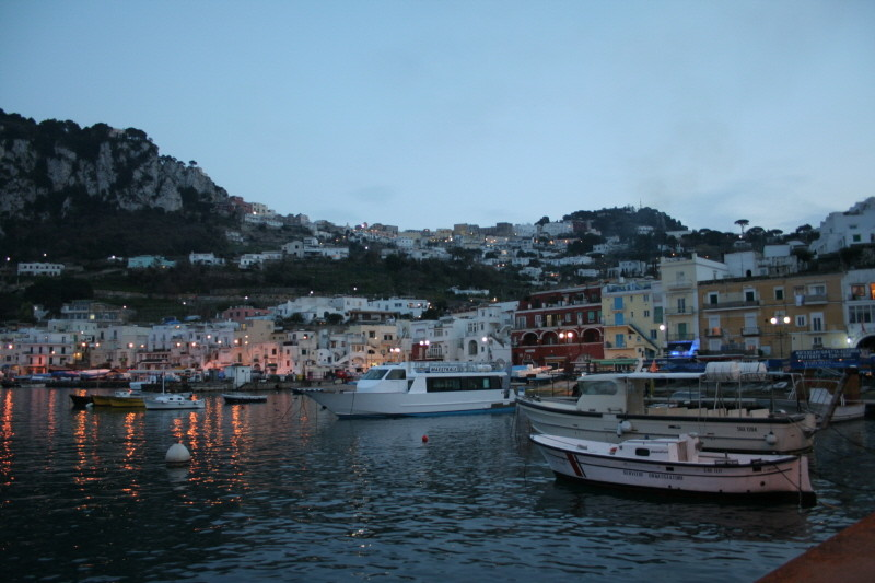 Wir verlassen Capri