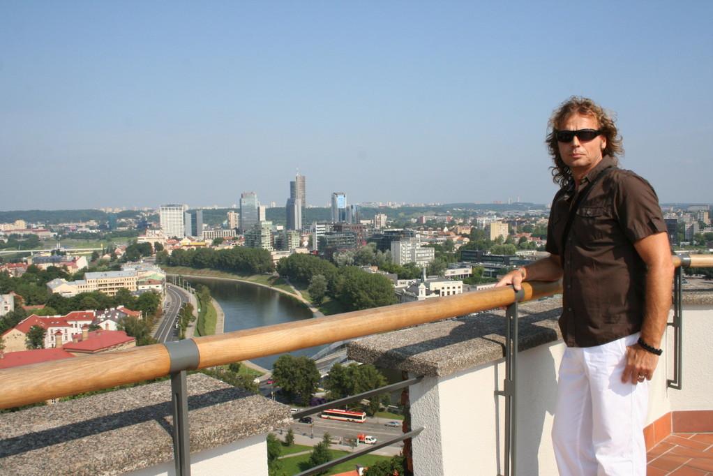 Blick vom Gediminasturm...