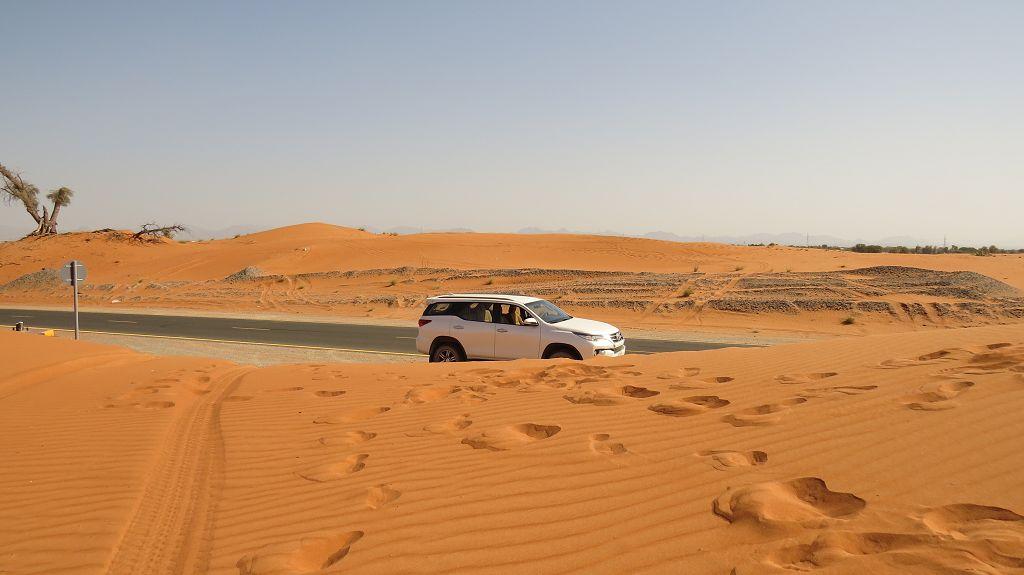 Durch die Wüste zum...