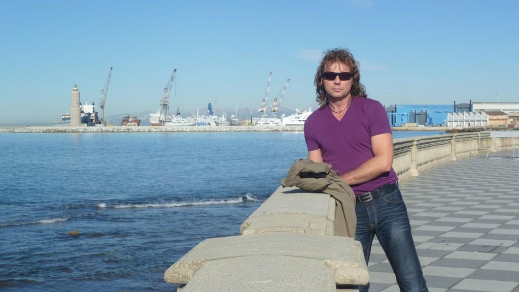 Blick auf Livornos Hafen