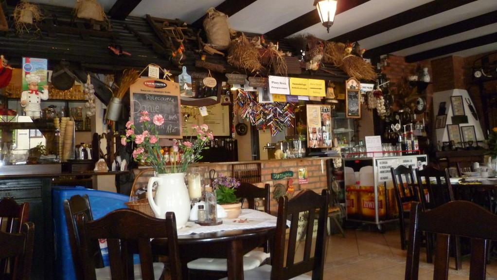 ...und essen hier