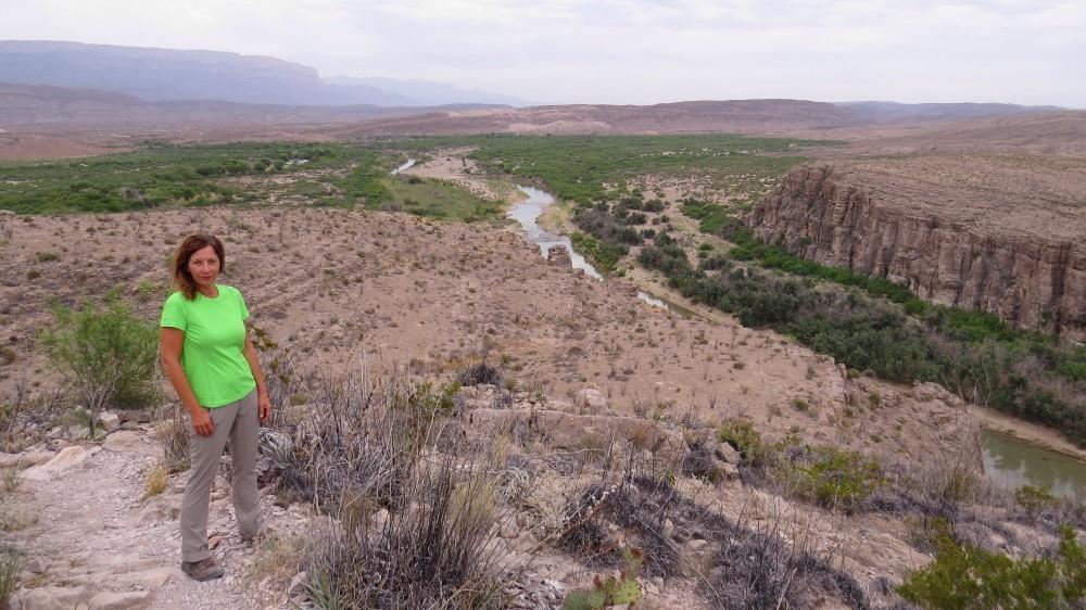 Wanderung zur heißen Quelle am Rio Grande
