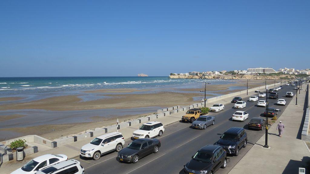 Shati al Qurum, der Strand von Muscat