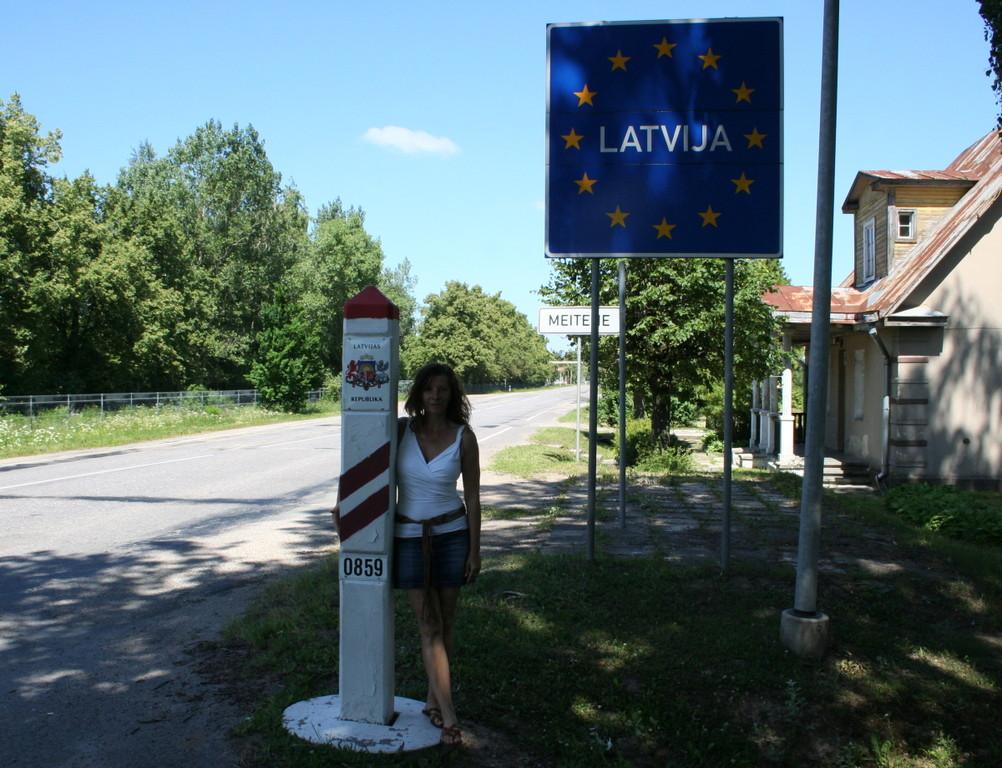 28. Juni: Wir sind in Lettland angekommen
