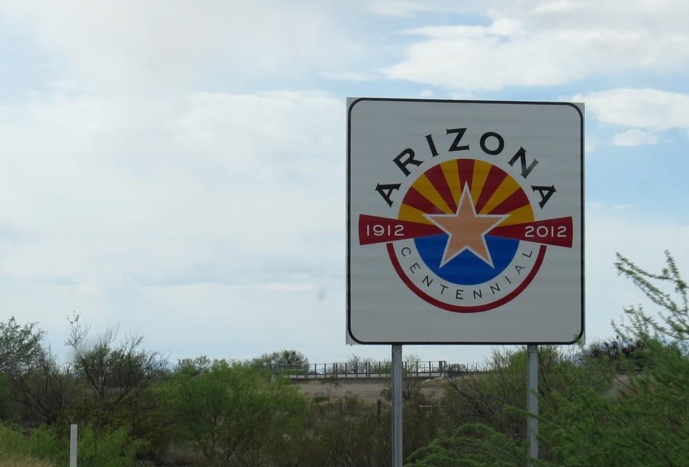 Alles klar, wir sind in Arizona.