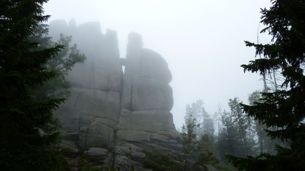 Nebel steigen auf.